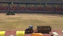 VIDEO | Cooperativa munca în zadar. Au început lucrările de schimbare a gazonului de pe Arena Naţională