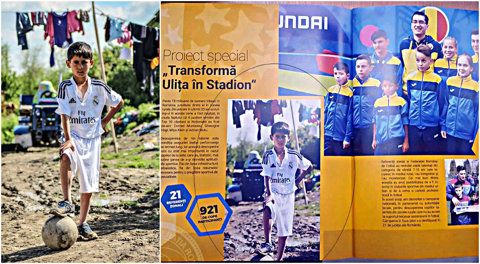 """FRF, acuzată că a furat opera unui fotograf şi a folosit-o în broşura """"Împreună suntem fotbal"""", închinată lui Burleanu. """"Imaginea din pagina 72 îmi aparţine, am concurat cu ea la Salonul Fotografului Român. Nici măcar n-au menţionat sursa!"""""""