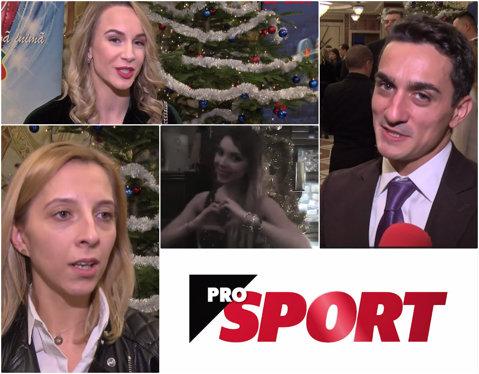 """La mulţi ani, 2018! VIDEO: campionii vin la ProSport cu 12 mesaje de pe podium, de pe saltea, din apă, ori direct din iarbă, pentru 12 luni de top. Campioana europeană Eliza Samara: """"Sper să pot să aduc mai multe medalii pentru mine şi pentru fani"""""""