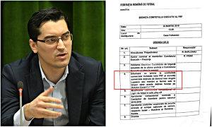 """Alegerile FRF, faza pe dosare: Burleanu îl pârăşte pe Lupescu în Comitetul Executiv. Urmează plângerile penale? Ce urmăreşte actualul şef al federaţiei cu """"informarea"""" despre contractele semnate acum un deceniu de contracandidatul său"""