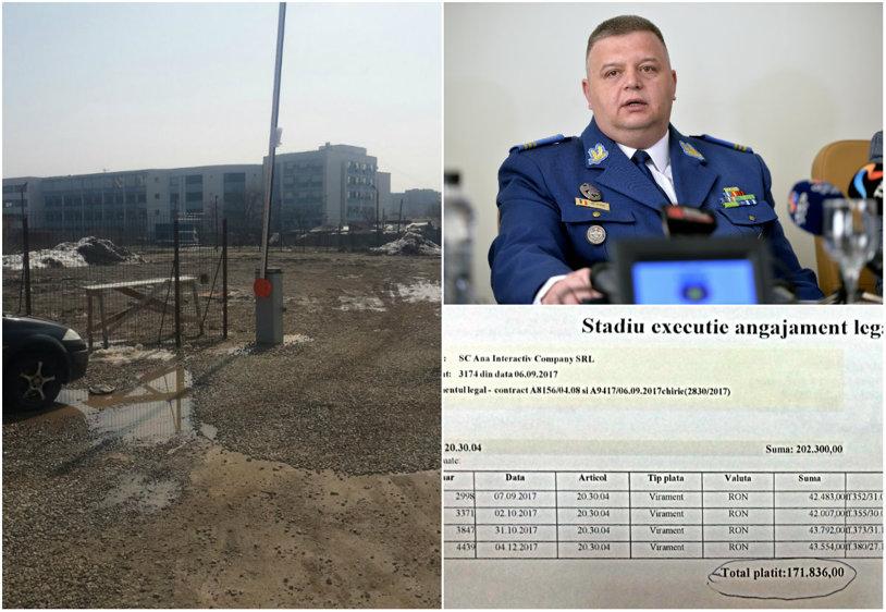 ACTE | Steaua a plătit 172.000 de lei unei firme de apartament pentru chiria unui teren de pregătire. S-au facturat şi 22 ore pe zi, toată toamna. Pe locul respectiv e o parcare. Câţi angajaţi are firma şi ce spune colonelul Petrea | GALERIE FOTO