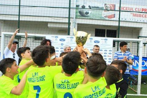 LPS Mircea Eliade este campioana Bucureştiului la Cupa Hagi Danone