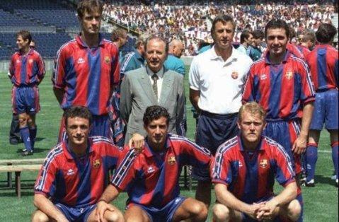 Hagi şi Popescu vor evolua, din nou, pentru Barcelona! Legendele clubului catalan vin la Cluj pentru un meci demonstrativ