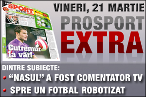 ProSport Extra, subiecte si premii incitante
