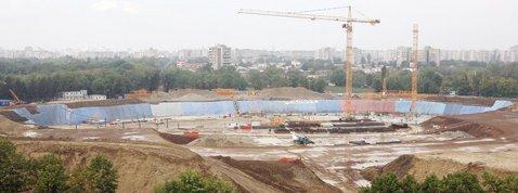 """Lucrările la Stadionul """"Lia Manoliu"""", finalizate în proporţie de 35%"""