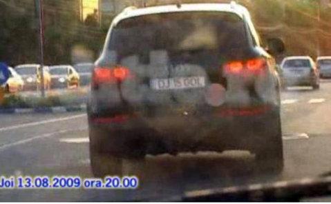 VIDEO Răducanu, pericol public! După ce a gonit cu 205 Km/h, a fost prins a doua oară fără permis!