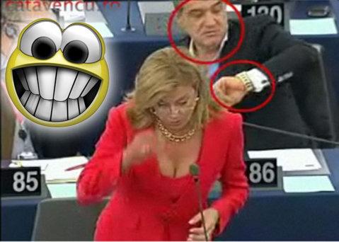 """VIDEO Gigi în Parlamentul European: """"Hai, că poate am treabă şi voi mă reţineţi"""""""