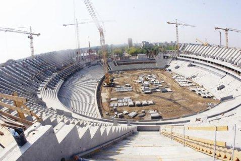 SUPERFOTO Vezi cum arată noul stadion naţional