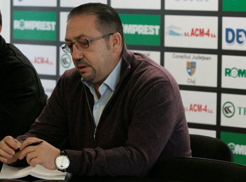 """Florian Walter, jucătorii şi întreg staff-ul tehnic al lui """"U"""" transmit condoleanţe familiei Dănilescu"""