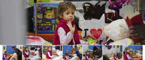 Mă numesc Eva, am 4 ani şi sunt bolnavă de leucemie. VREAU SĂ TRĂIESC! Intră în campania Gândul şi salvează o viaţă!