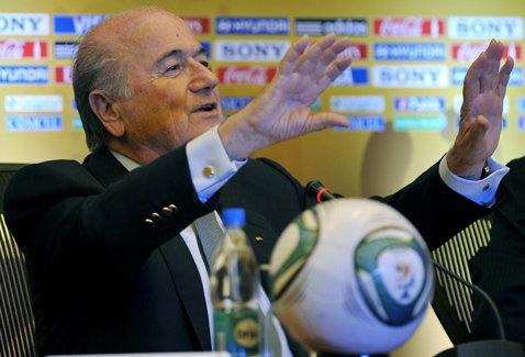 Blatter va participa la inaugurarea Complexului Sportiv al FRF de la Buftea