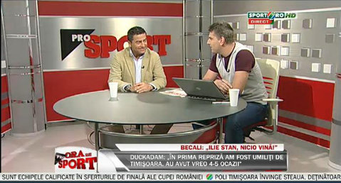 """VIDEO A început """"Ora de ProSport""""! Pune-i o întrebare lui Renzo Rossi"""