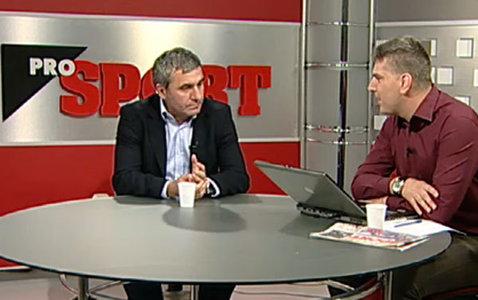 """LIVE VIDEO A început """"Ora de ProSport""""! Pune-i o întrebare lui Gică Hagi"""