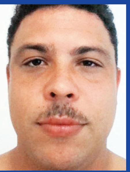 Ronaldo, varianta cu mustaţă! Fostul mare atacant a surprins din nou