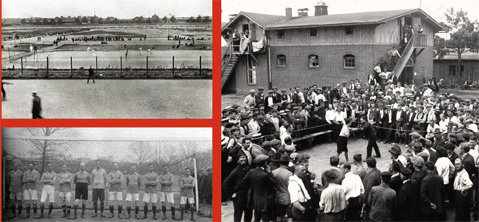 Cum se juca fotbal în lagărele germane! Poveşti neştiute din primul război mondial