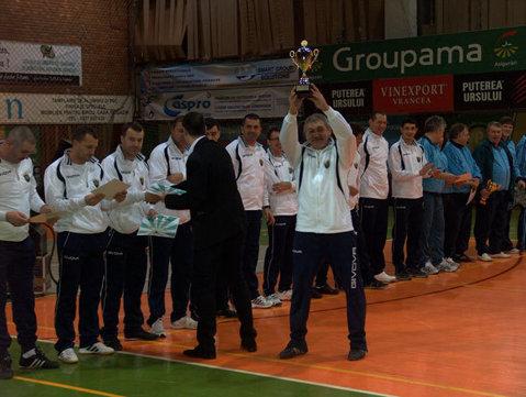 Dinamo a luat marele trofeu la old boys după o victorie în finală împotriva celor de la Galatasaray