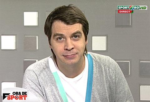 """ACUM LIVE VIDEO  """"Ora de ProSport"""", cu Costin Ştucan! Renzo Rossi este invitatul emisiunii"""