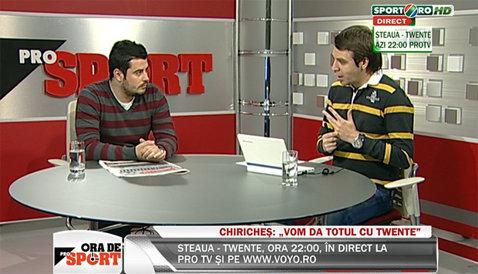 """LIVE VIDEO """"Ora de ProSport"""", cu Costin Ştucan! Steaua, OUT din Europa League! Cine e vinovat pentru eşec?"""
