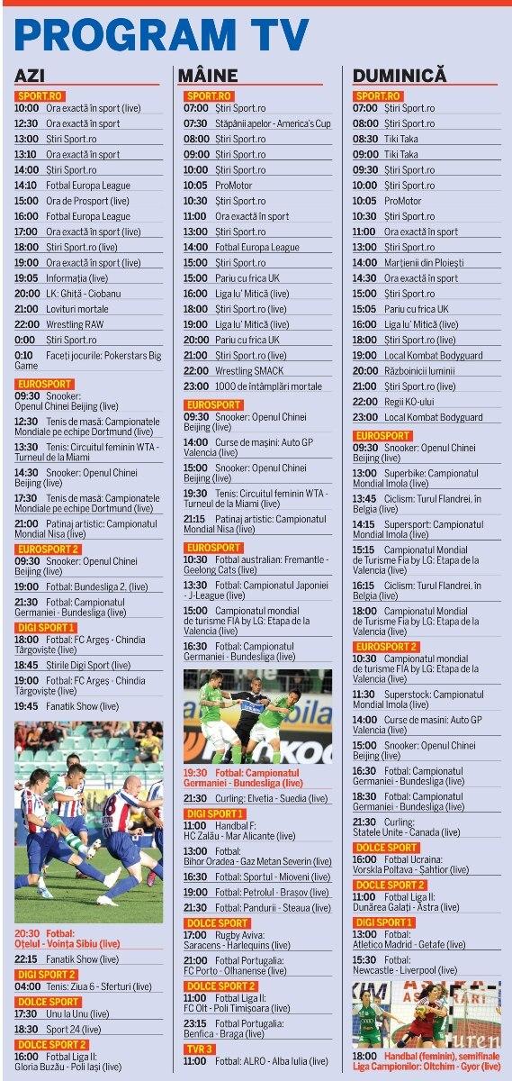 Program Dolce Sport 2 Azi