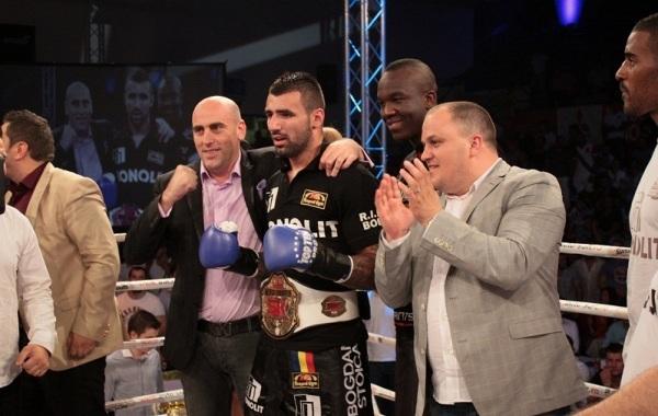 România are încă un campion mondial: Bogdan Stoica a cucerit titlul Superkombat la categoria 91 de kilograme