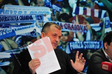 """Ganea: """"E foarte greu pentru Universitatea Craiova să revină în competiţii acum"""""""