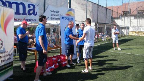 Record de participare la Cupa României la Minifotbal! S-au înscris 36 de echipe