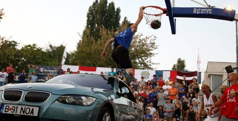 Sport Arena Streetball… la turaţie maximă!