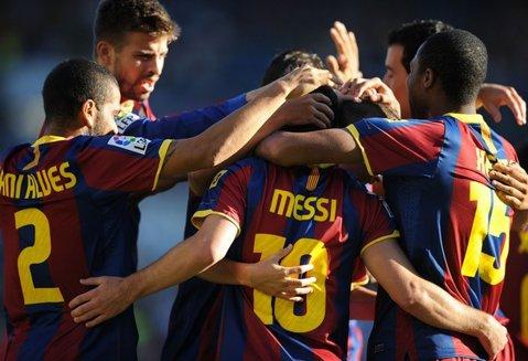 """Vilanova: """"Ne bucurăm foarte mult că venim la Bucureşti. Vor fi prezenţi toţi jucătorii!"""" Barcelona va evolua în noul echipament! FOTO"""