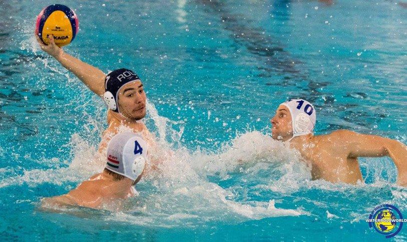Naţionala de polo, a 10-a calificare consecutivă la turneul final al Campionatului European