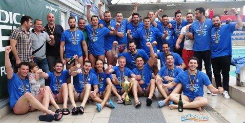 Steaua a câştigat cel de-al treilea titlu naţional consecutiv la polo după ce a închis finala cu CSM Digi Oradea în minimum de meciuri. În cel de-al treilea joc, roş-albaştrii s-au impus în deplasare cu 8-4