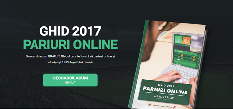 (P) Ghid pariuri online 2017 – Peste 10 ani experienţă acum la dispoziţia ta!