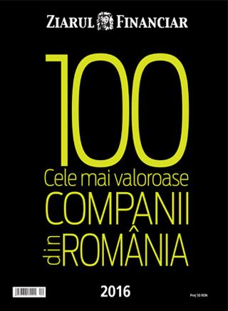Anuarul Top 100 cele mai valoroase Companii din România