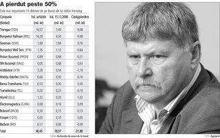 Senatorul Verestoy are de patru ori mai putini bani pe Bursa decat acum un an