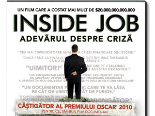 """""""Inside Job"""", documentarul despre criză  considerat """"horrorul deceniului"""""""