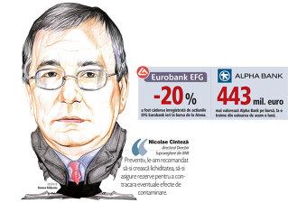 BNR sfătuieşte băncile greceşti să-şi facă rezerve de lichiditate. Întâlnire la BNR pentru planurile de acţiune