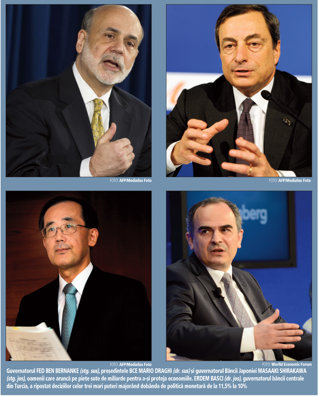 Pericolele banilor ieftini pe care BCE, Fed �i Banca Japoniei �i arunc� pe pie�e: de la bule imobiliare �n Europa la �necarea �n capital a economiilor mai slabe