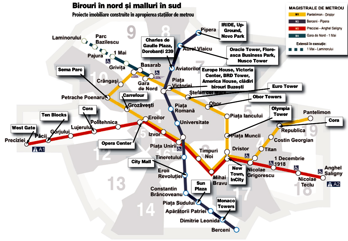 Cum Au Profitat Dezvoltatorii Imobiliari De Metrou Harta