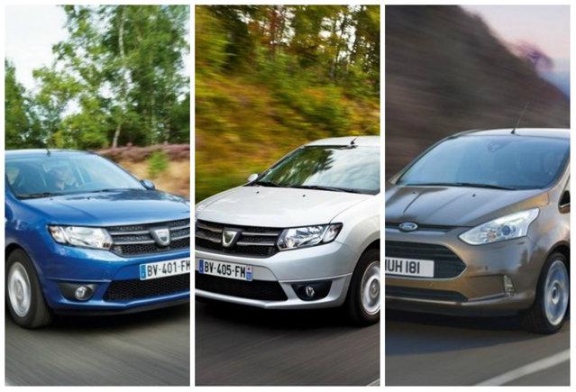 """Ford B-Max """"de Craiova"""" vs. Dacia Logan&Sandero. Care este cel mai avantajos model?"""