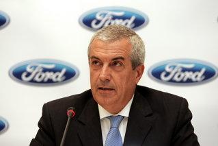 Tăriceanu vinde Ford în loc de Citroën