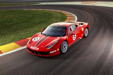 Forza Rossa a livrat în România primul Ferrari care nu are voie să circule pe drumurile publice