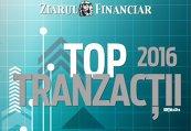 e-Paper ZF Top Tranzacţii 2016. Cele mai mari tranzacţii, prezentate în detaliu