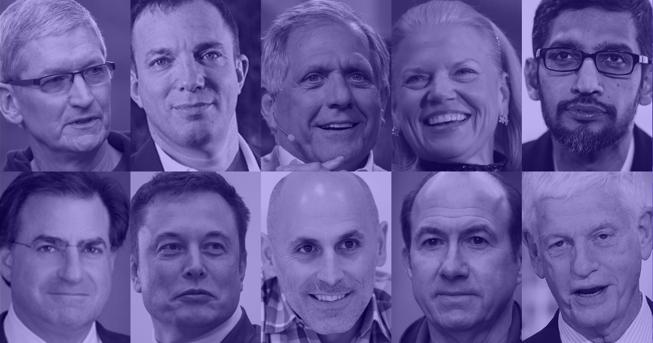 Cei mai bine plătiţi şefi de companii din lume. Ce salarii au Tim Cook, Elon Musk sau Sundar Pinchai - VIDEO