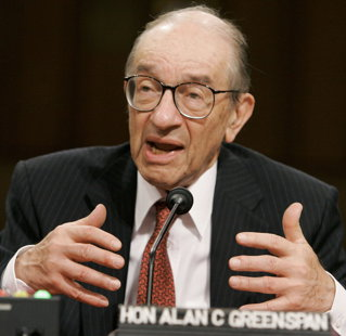 Greenspan: Am facut o greseala; bancile nu se pot proteja in fata haosului financiar