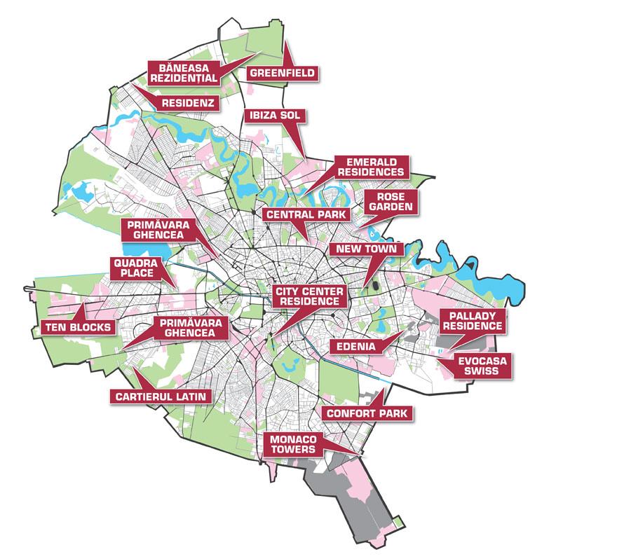 Unde Iti Poti Cumpara Casa Noua In Bucuresti Harta Proiectelor