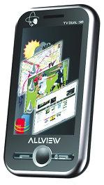 T1 Vision Dual SIM, unul dintre mobilele produse de Visual Fan, are camera foto de 3,2 megapixeli, functie TV analog si conectitivitate GPRS, Bluetooth si USB. Aparatul are si un senzor de miscare care permite, spre exemplu, oprirea soneriei mobilului prin intoarcerea telefonului. Mobilele Allview sunt asamblate in Asia, iar softul este modificat in Romania. Aproximativ 26% din populatia urbana din Romania are doua telefoane diferite, de regula din retele diferite, conform datelor de pe piata.