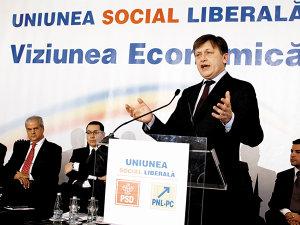 Crin Antonescu, preşedintele PNL
