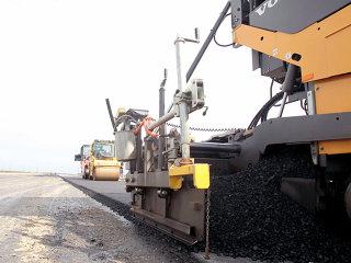 Dintr-un total de 62 km din autostrada Bucureşti - Ploieşti sunt asfaltaţi 21 km