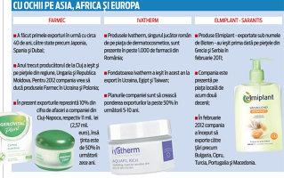 Cosmeticele Ivatherm, Gerovital şi Elmiplant au luat drumul Japoniei, Taiwanului şi Egiptului