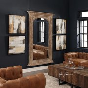Cum să îţi decorezi casa folosind oglinzile de pardoseală