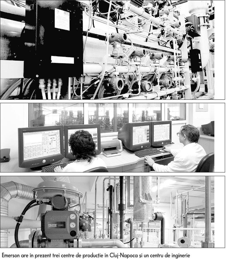 Emerson angajeaza 40 de oameni pe luna in fabricile din Cluj